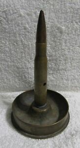 Trench Art Bullet Ashtray Paper Weight