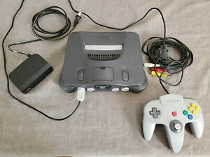Nintendo 64 Console (NTSC) with controller - Tested and Free Shipping