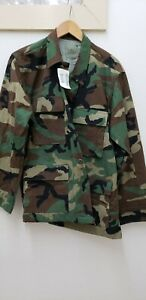 Military Issued Woodland Shirt/Blouse-NEW-MS