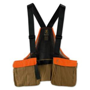 Browning PF Upland Strap Vest wout Embroidery  (ONESIZEFIELDTAN) 30512032