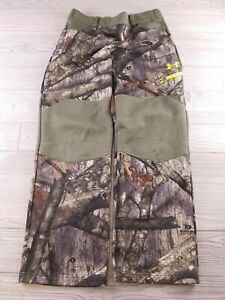 Under Armour Cold Gear Scent Control hunting Pants Youth Large Camouflage   L225