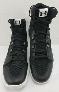Under Armour Highlight Ace Womens Basketball Shoes Black 1290205-010 Size 7