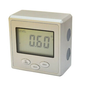 Digital Angle Cube Gage Electronic Gauge Level Protractor Magnetic $36.50