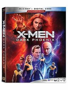 X-Men: Dark Phoenix  (Blu Ray + Digital HD) 2019 w/ SLIP COVER **FREE SHIPPING**