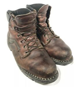 """RED WING 926 DynaForce EH 6"""" Leather Work Boots USA Steel Toe Men's 10.5"""