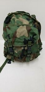 Military Issued Woodland Patrol Backpack