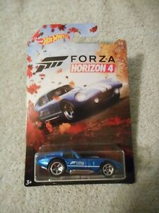 Damaged Card 2019 Hot Wheels Forza Horizon 4 Shelby Cobra Daytona Coupe