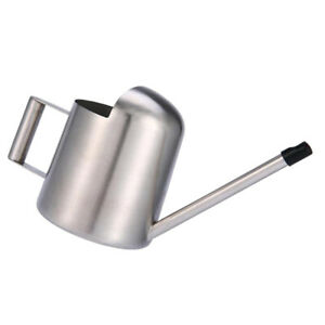1x Mini Indoor Watering Can Stainles Steel Spout for Plants Flowers Home 300ml
