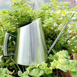1x Metal Watering Can Stainles Steel Spout for Plants Flowers Home 400ml