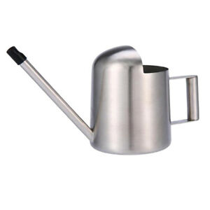 1x METAL WATERING CAN - High Quality Steel - Long Nozzle 300ml