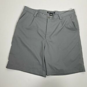 Under Armour Size 38 Men's Shorts Performance Solid Gray Golf
