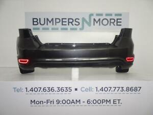 OEM 2011-2017 Dodge Journey wo Sensors Two Peice Design Rear Upper Bumper Cover