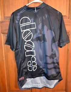 Primal Wear Jim Morrison The Doors print cycling jersey men's size XL ~ LK