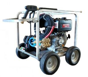 4000 PSI Yanmar Diesel Pressure Washer with Electric Start