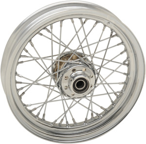 Drag Specialties 0203-0631 Replacement Laced Wheels Front 16x3