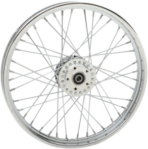 Drag Specialties 0203-0532 Replacement Laced Wheels Front 19x2.15