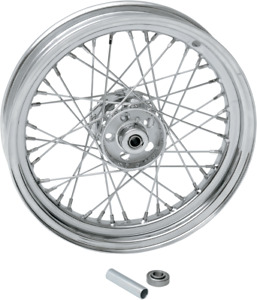 Drag Specialties 0203-0420 Replacement Laced Wheels Front 16 x 3