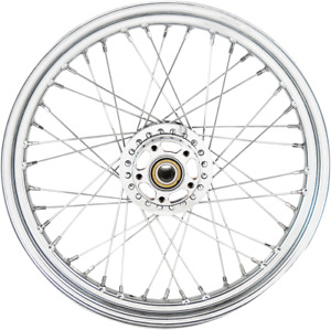 Drag Specialties 0203-0637 Replacement Laced Wheels Front 19X2.5