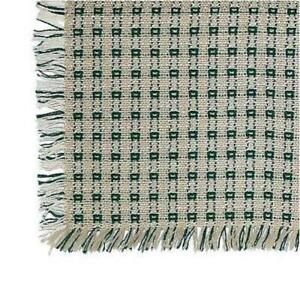 Homespun Tablecloth - Stone and Evergreen - Tablecloths, Napkins, Runners, Place
