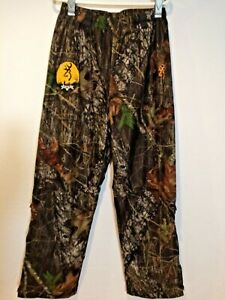 Browning Scentlok Mens Camo Hunting Pant Elastic Windstopper Size XL Drawstring