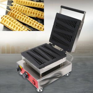 Stainless Steel Lolly Waffle Stick Maker Baking Machine commercialhome use 4pcs