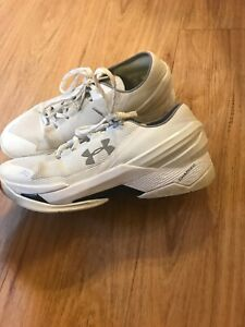 Stephen Curry Under Armour Low Top Men Size 10 Shoes White