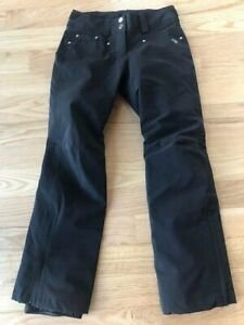 Descente womens insulated ski pants size 4 black - NWOT