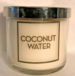 *New* COCONUT WATER 4oz. Single Wick Candle Bath amp; Body Works Ships Free