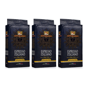 Attibassi Premium Italian Roasted Ground Coffee Ready for Expresso Machines