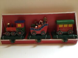 2008 Target TRAIN Stocking Holders 3 Pieces