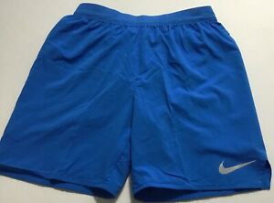 "Nike Flex Stride 7"" Brief Lined Running Shorts AT4014 Light Blue 403 Size M $32.99"