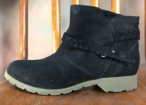 "TEVA ""Delavina� Waterproof Suede Ankle Boot 8 NEW $65.00"