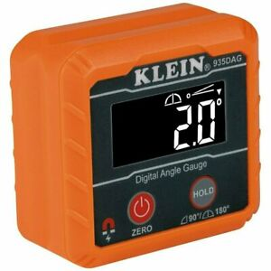 Klein Tools 935DAG Digital Angle Gauge And Level with LCD Display $29.97