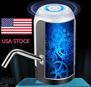 Automatic Water Bottle Universal Electric Switch Pump 5 gallon USB Jug Dispenser