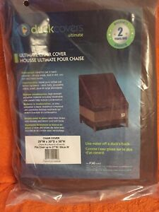 Duck Covers Ultimate Patio Chair Cover, 29-Inch Duck Covers 29W x 30D x 36H
