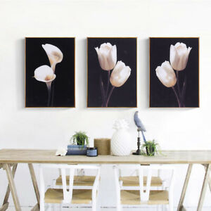 3pcs Canvas Huge Wall Art Oil Painting Picture Print Unframed Home Decor $19.22