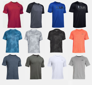 Under Armour T Shirts Mens Small to 2XL New Authentic UA Tech Short Sleeve Tees $19.99