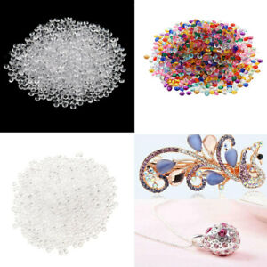 4000x Clear Acrylic Crystal Wedding Table Scatter Diamonds Vase Filler 4mm