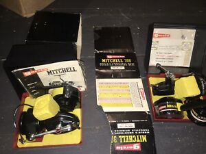 Mitchell Garcia 300 300c reel X2 NOS NIB vintage Box Sealed Sealed Papers W Foam