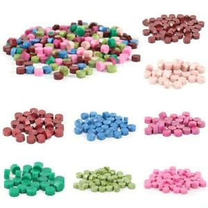 100pcs DIY Vintage Sealing Wax Beads For Stamp Envelope Wedding Invitation