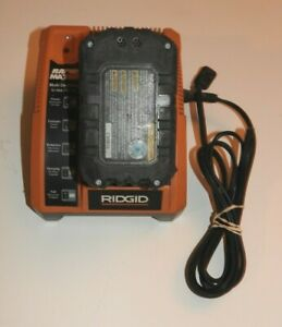RIDGID CHARGER R840091 &BATTERY R84008 RAPID MAX LITHIUM ION 9.6v 12v 18v Ni-Cad