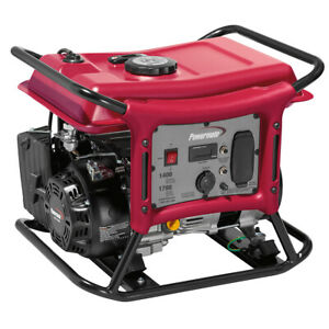 Powermate CX1400 1400 Watt Portable Generator 49 State CSA
