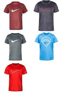 New Nike Boys Dri FIT Performance Jersey Shirt Choose Size and Color $9.99