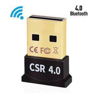 Wireless Bluetooth USB 4.0 CSR Dongle Adapter Receiver for PC Windows 7 8 10