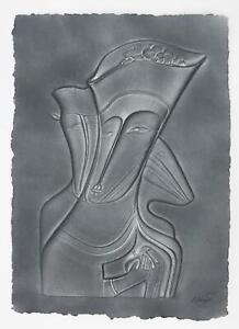 Authentic Original Limited Edition Paper Relief by Mihail Chemiakin $1800.00