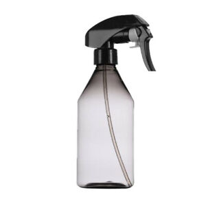 Refillable Water Spray Bottle 10oz Hair Sprayer for Misting Plants Grey