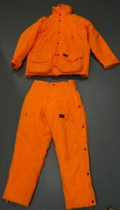 WALLS Insulated Hunting Jacket and Pants suit size L