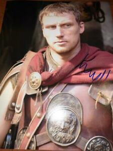 KEVIN MCKIDD GREY ANATOMY POSEIDON PERCY JACKSON ACTOR SIGNED 8X10 PHOTO ALG COA