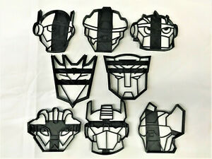 Transformers Cookie Cutters