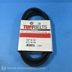 Pix A71 4L730 Molded Cog V Belt, 1 2 x 73, 5 16 Inch Depth FNFP